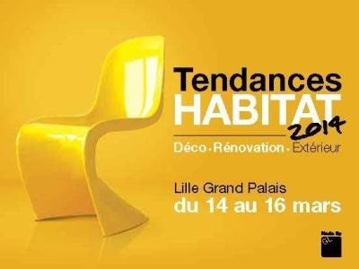 Affiche Salon Tendances Habitat 2014 à Lille