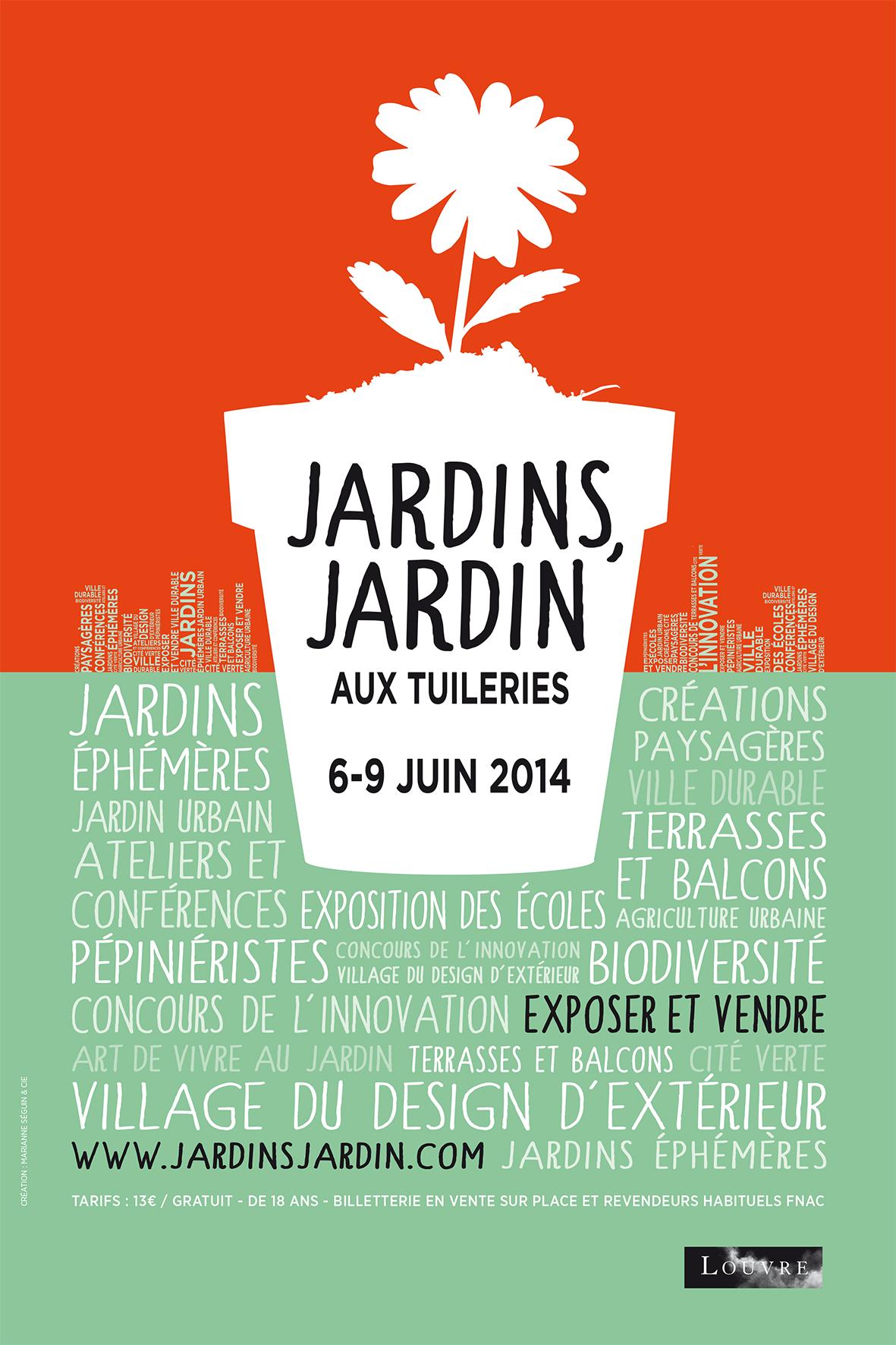 Jardins, Jardin 2014 au Jardin des Tuileries