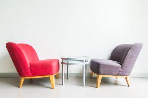 fauteuils scandinave - déco salon